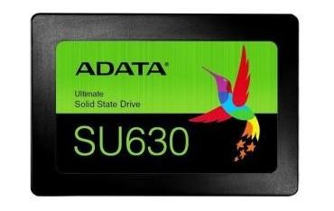 """Dysk SSD ADATA Ultimate SU630 240GB 2,5"""" SATA3 (520/450 MB/s) 7mm, 3D QLC / Black Retail"""