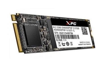 Dysk SSD ADATA XPG SX6000 PRO 512GB M.2 PCIe NVMe (2100/1400 MB/s) 2280, 3D TLC NAND