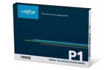 Dysk SSD Crucial P1 1TB M.2 PCIe Gen3 x4 NVMe 2280 (2000/1700MB/s)