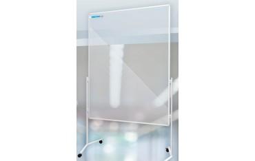 Aluminiowy mobilny stojak przegroda ścianka działowa (cztery kółka z blokadą) 120×150 cm