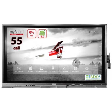 "Monitor interaktywny myBoard Business LED 55"" z Androidem + OPS i3 myBoard TE-XP 55 + OPS i3"