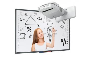 Zestaw interaktywny panoramiczny Avtek ULTRA TT-BOARD 90 Pro z projektorem ultrakrótkoogniskowym Epson EB-685W