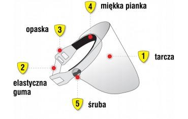 Przyłbica ochronna - BarrierMask