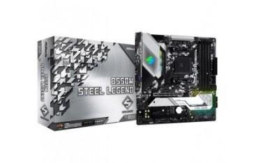 Płyta ASRock B550M Steel Legend/AMD B550/DDR4/SATA3/M.2/USB3.1/PCIe4.0/AM4/mATX
