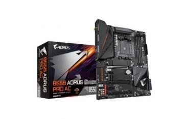 Płyta Gigabyte B550 AORUS PRO AC /AMD B550/DDR4/SATA3/M.2/USB3.1/PCIe4.0/WiFi/BT/AM4/ATX