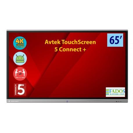 Monitor interaktywny Avtek Touchscreen 5 Connect+ 65 4K