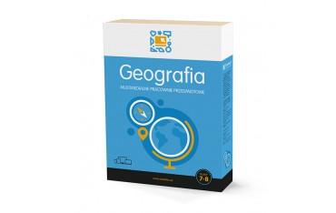 Geografia (kl. 7-8) program interaktywny Multimedialne Pracownie Przedmiotowe