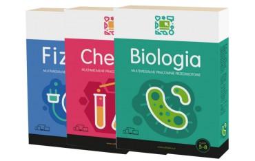 Pakiet Przyrodniczy (biologia, chemia, fizyka) program interaktywny Multimedialne Pracownie Przedmiotowe