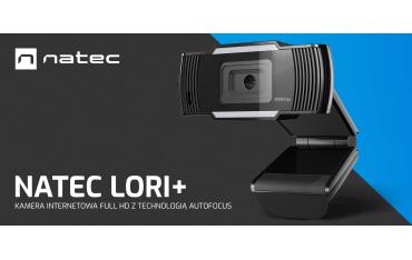 Natec Lori Plus Full HD kamerka internetowa
