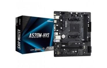 Płyta ASRock A520M-HVS/AMD A520M/DDR4/SATA3/M.2/USB3.1/PCIe4.0/AM4/mATX