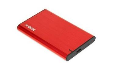 """Obudowa na dysk iBOX HD-05 2.5"""" USB 3.1 gen.1 Red"""