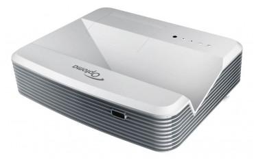 Projektor ultra krótkoogniskowy Optoma EH320USTDLP FullHD 4000 ANSI + dedykowany uchwyt ultra short throw projector