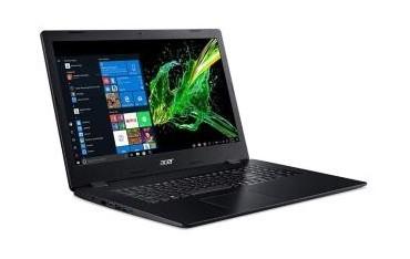 """Notebook Acer Aspire 3 17,3""""FHD /i3-1005G1/8GB/SSD512GB/UHD/DVD-RW/W10 Black"""