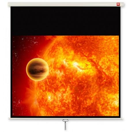 Ekran projekcyjny rozwijany ręcznie 175 cm x 175 cm Avtek Video 175