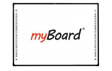 """Tablica interaktywna optyczna myBoard BLACK 2C 85"""" Nano dotykowa"""