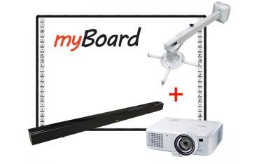 Zestaw tablica interaktywna z projektorem
