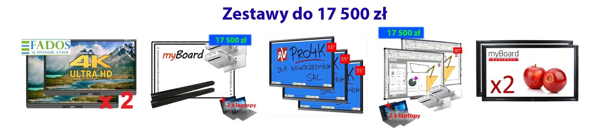 Zestaw 17500 Aktywna tablica