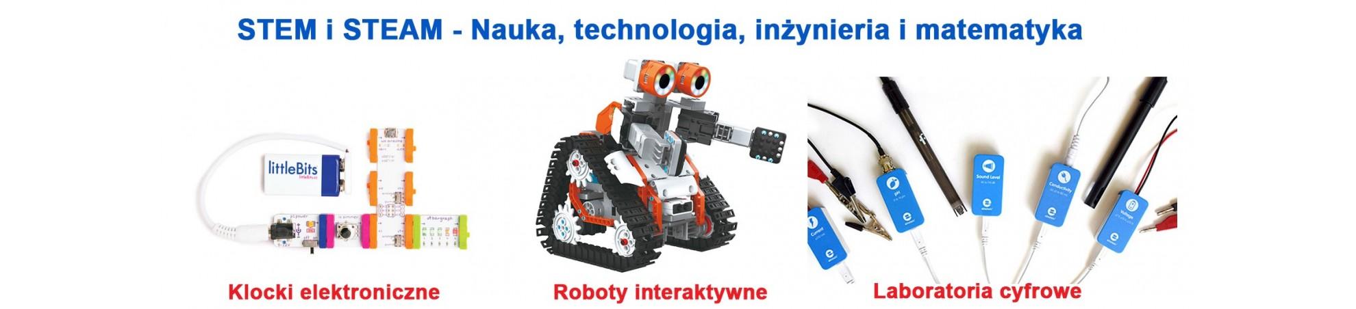 STEM i STEAM - roboty, laboratoria cyfrowe