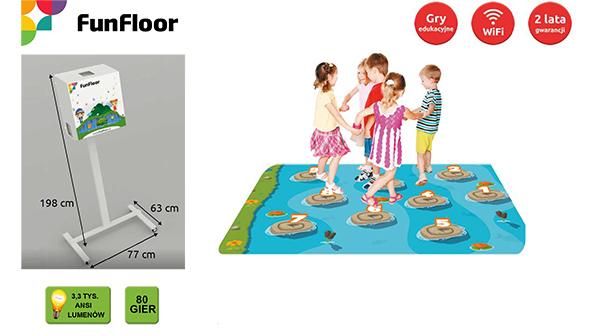 Interaktywna Podłoga FunFloor Edu mobilny