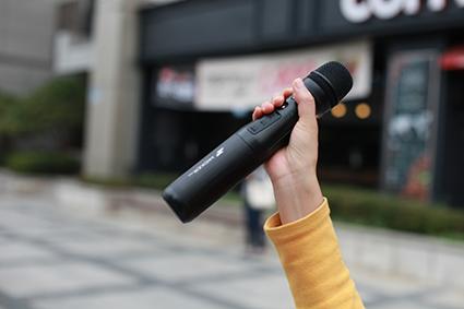 Micker PRO MK-10W mikrofon bezprzewodowy z głośnikiem