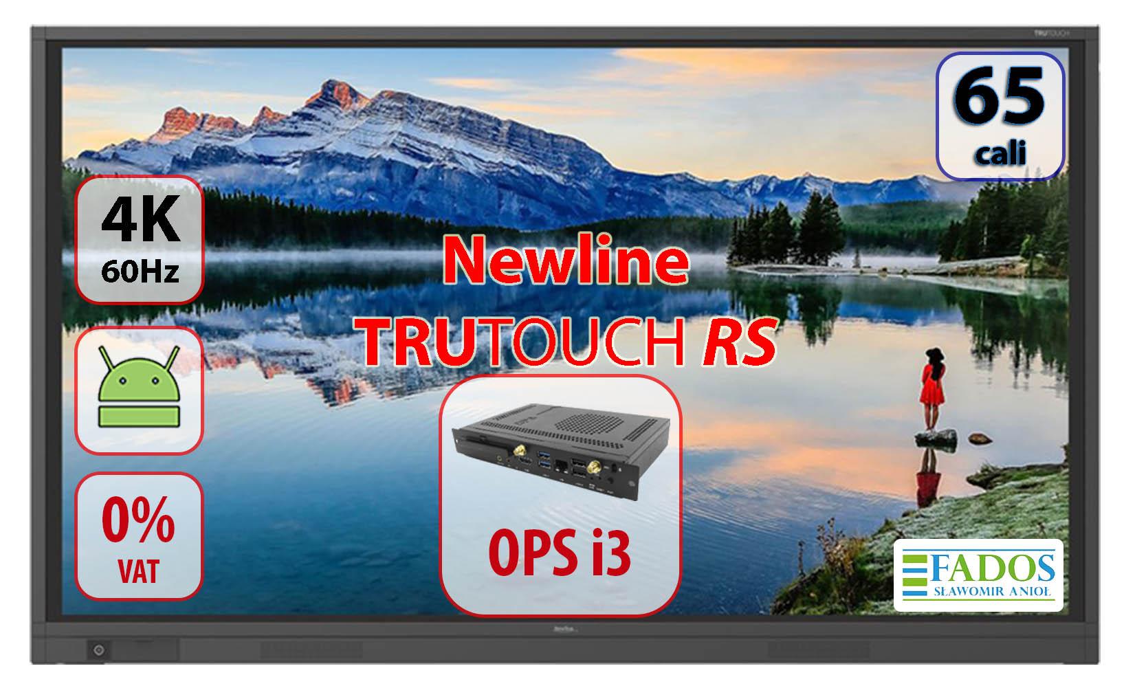 Newline TruToucj TT-6518RS z OPS i3 0 VAT