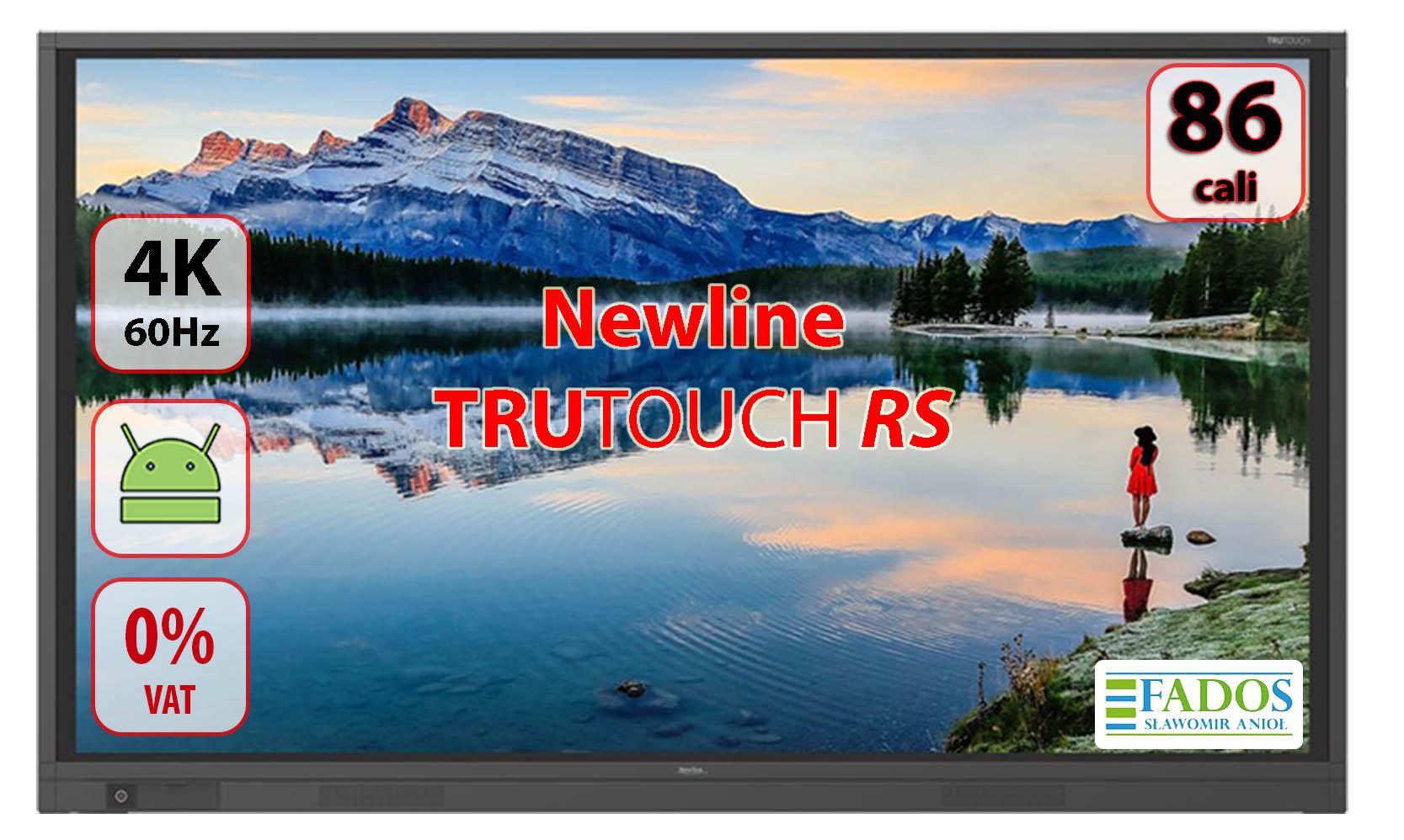 Monitor interaktywny 86 cali Newline TruTouch TT-8618RS