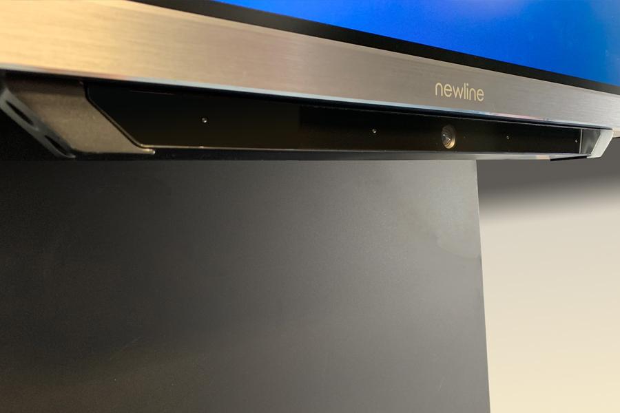 Newline monitor interaktywny MIRA wbudowana kamera i mikrofon