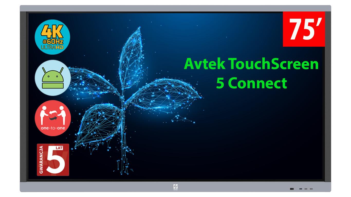 Monitor interaktywny 75 cali Avtek
