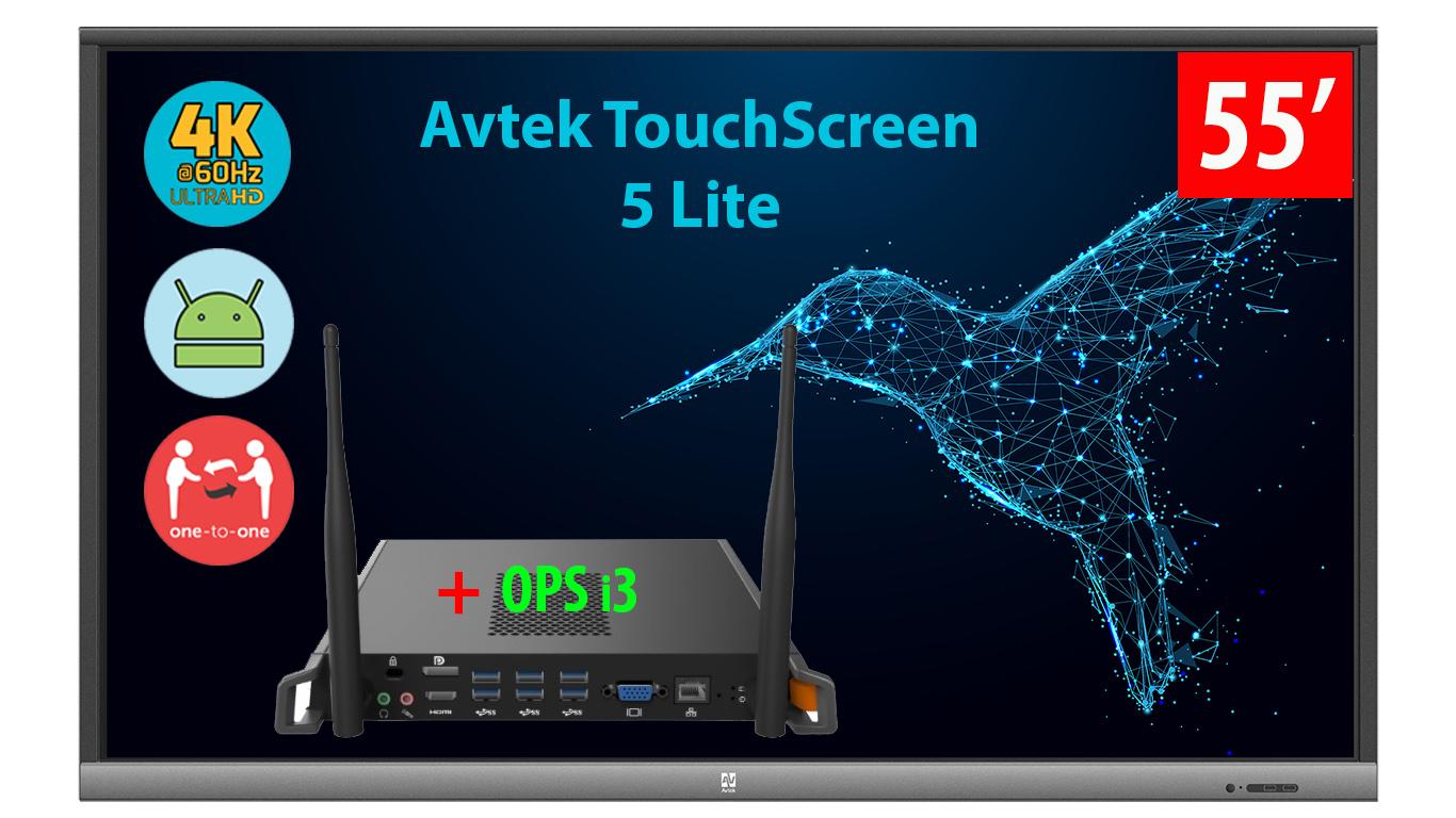 Monitor interaktywny z OPS i3 Avtek