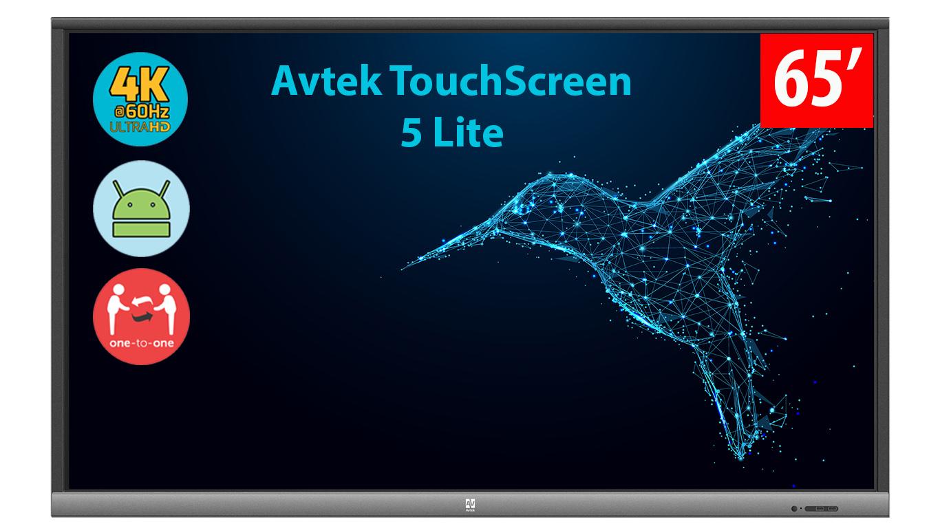 Monitor interaktywny Avtek 5 Lite 65 cali