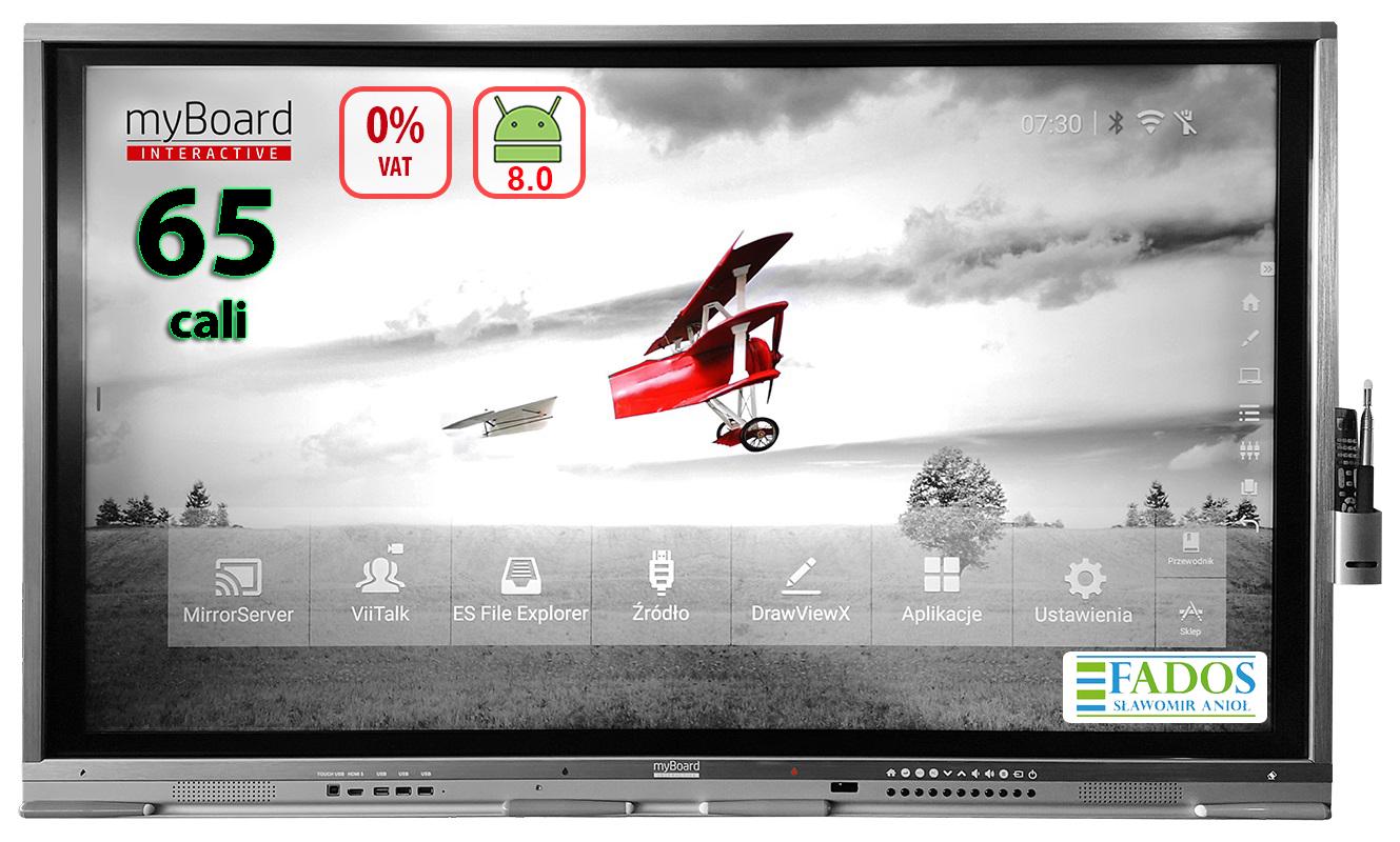 "Monitor interaktywny myBoard Grey TE-MP 65"" 4K"