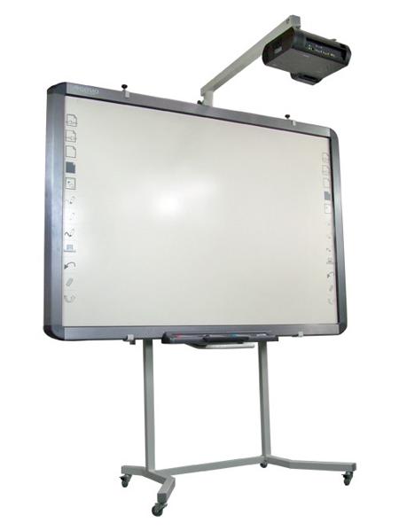 Mobilny regulowany statyw Avtek do projektora krótkoogniskowego